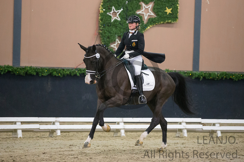 Steffi Hesters - Whitney<br /> CDI3* Christmas Show 2014<br /> © DigiShots