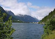 Hordaland county, Norway. Hardangerfjord