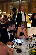 WILL MACKINLAY; DAWN HAIG-THOMAS, Charity Dinner in aid of Caring for Courage The Royal Scots Dragoon Guards Afganistan Welfare Appeal. In the presence of the Duke of Kent. The Royal Hospital, Chaelsea. London. 20 October 2011. <br /> <br />  , -DO NOT ARCHIVE-© Copyright Photograph by Dafydd Jones. 248 Clapham Rd. London SW9 0PZ. Tel 0207 820 0771. www.dafjones.com.