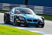 2012 FIA GT1 World Championship.Donington Park, Leicestershire, UK.27th - 30th September 2012.Michael Bartels / Yelmer Buurman, BMW E89 Z4..World Copyright: Jamey Price/LAT Photographic.ref: Digital Image Donington_FIAGT1-17440