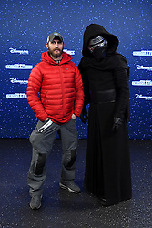 Tom Hardy with Kylo Ren at the launch of Star Wars: Season Of The Force on January 21, 2017 in Disneyland Paris. Photo by Jon Furniss/Disney/ABACAPRESS.COM