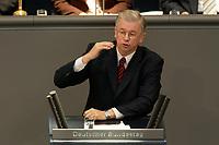 17 OCT 2003, BERLIN/GERMANY:<br /> Roland Koch, CDU, Ministerpraesident Hessen, waehrend seiner Rede, Plenum, Deutscher Bundestag<br /> IMAGE: 20031017-01-039<br /> KEYWORDS: Bundestagsdebatte, speech