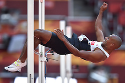 28-08-2015 CHN: IAAF World Championships Athletics day 7, Beijing<br /> High jump Decathlon / Damian Warner CAN<br /> Photo by Ronald Hoogendoorn / Sportida