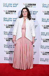 Melissa McCarthy attends the Can You Ever Forgive Me screening at Cineworld Leicester Square during the 62nd BFI London Film Festival.