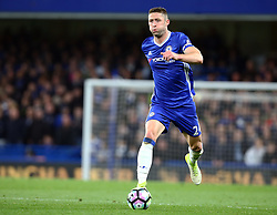 May 8, 2017 - Chelsea, Greater London, United Kingdom - Chelsea's Gary Cahill.during Premier League match between Chelsea and Middlesbrough at Stamford Bridge, London, England on 08 May 2017. (Credit Image: © Kieran Galvin/NurPhoto via ZUMA Press)