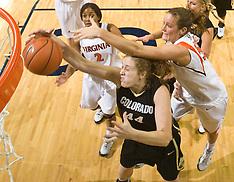 20081124 - Colorado at #16 Virginia (NCAA Women's Basketball)