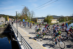 Ashleigh Moolman Pasio (RSA) in the bunch at La Flèche Wallonne Femmes 2018, a 118.5 km road race starting and finishing in Huy on April 18, 2018. Photo by Sean Robinson/Velofocus.com