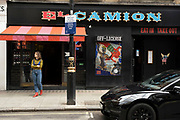 Eat in or takeaway restaurant in Soho on 26th May 2021 in London, United Kingdom. As the coronavirus lockdown continues its process of easing restrictions, more and more people are coming to the West End as more businesses open.