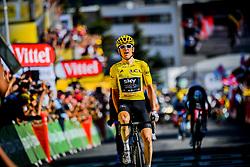 Team Sky's Geraint Thomas wins stage twelve of the 2018 Tour de France.