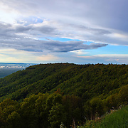 """Passing Storm on the Ridge""<br />