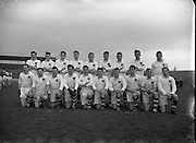 Combined Universities and The Rest v Ireland at Croke Park.  Combined Universities and The Rest Team..06.03.1955