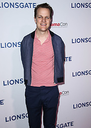 CinemaCon 2018 - Lionsgate Presentation held at The Colosseum at Caesars Palace during CinemaCon, the official convention of the National Association of Theatre Owners on April 26, 2018 in Las Vegas, Nevada, United States. 26 Apr 2018 Pictured: Otto Bathurst. Photo credit: Xavier Collin/Image Press Agency / MEGA TheMegaAgency.com +1 888 505 6342