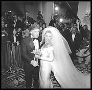 Donald Trump and Marla Maples© Copyright Photograph by Dafydd Jones 66 Stockwell Park Rd. London SW9 0DA Tel 020 7733 0108 www.dafjones.com