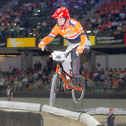 27-07-2014: Wielrennen: WK BMX : Rotterdam: Niek Kimman World Champion junior men BMX