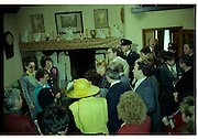 Raisa Gorbachev at Bunratty Folk Park.  (R99)..1989..02.04.1989..04.02.1989..2nd April 1989..While her husband, Russian President Mikhail Gorbachev,was working on state matters ,Mrs Gorbachev was taken on a tour of Bunratty Folk Park in Co Clare. The Gorbachevs were in Ireland as part of a tour of European Capitals.