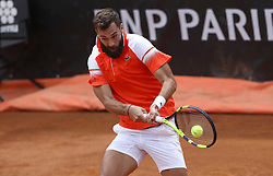 May 14, 2019 - Rome, Italy - Benoit Paire (FRA) during the ATP Internazionali d'Italia BNL first round match at Foro Italico in Rome, Italy on May 14, 2019. (Credit Image: © Matteo Ciambelli/NurPhoto via ZUMA Press)