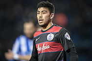 Massimo Luongo (QPR) during the Sky Bet Championship match between Sheffield Wednesday and Queens Park Rangers at Hillsborough, Sheffield, England on 23 February 2016. Photo by Mark P Doherty.