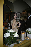 Astrid Munoz,  Charles Finch and Chanel 7th Anniversary Pre-Bafta party to celebratew A Great Year of Film and Fashiont at Annabel's. Berkeley Sq. London W1. 10 February 2007. -DO NOT ARCHIVE-© Copyright Photograph by Dafydd Jones. 248 Clapham Rd. London SW9 0PZ. Tel 0207 820 0771. www.dafjones.com.