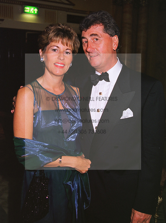 MR & MRS PHILIP LAWLESS  at a ball in London on 14th June 1999.MTF 26