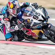 August 4, 2013 - Tooele, UT - JD Beach competes in Daytona Sportbike Race 2 at Miller Motorsports Park. Beach finished in third place.