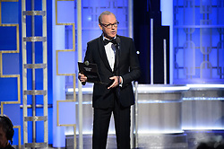 """Jan 8, 2017 - Beverly Hills, California, U.S - MICHAEL KEATON presents the Golden Globe Award for BEST PERFORMANCE BY AN ACTRESS IN A SUPPORTING ROLE IN A MOTION PICTURE for her role in """"Fences"""" at the 74th Annual Golden Globe Awards at the Beverly Hilton in Beverly Hills, CA on Sunday, January 8, 2017. (Credit Image: ? HFPA/ZUMAPRESS.com)"""