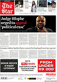 April 12, 2021 - AFRICA: Front-page: Today's Newspapers In Africa