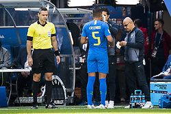 June 22, 2018 - Sankt Petersburg, Russia - 180622 Casemiro of Brazil during the FIFA World Cup group stage match between Brazil and Costa Rica on June 22, 2018 in Sankt Petersburg..Photo: Petter Arvidson / BILDBYRÃ…N / kod PA / 92075 (Credit Image: © Petter Arvidson/Bildbyran via ZUMA Press)