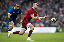 October 7, 2017 - Dublin, Ireland - Conor Murray of Munster in action during the warm-up during the Guinness PRO14 match between Leinster Rugby and Munster Rugby at Aviva Stadium in Dublin, Ieland on October 7, 2017  (Credit Image: © Andrew Surma/NurPhoto via ZUMA Press)