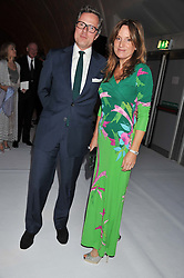 WILLIAM & EMILY TURNER at a dinner hosted by Cartier following the following the opening of the Chelsea Flower Show 2012 held at Battersea Power Station, London on 21st May 2012.