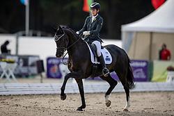 Baker Alex, IRL, Newton Tiger<br /> World Championship Young Horses Verden 2021<br /> © Hippo Foto - Dirk Caremans<br /> 26/08/2021