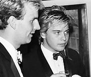 Valentine Guinness and Sebastian Guinness. Anglo American Ball. Royal Academy. 4 July 1984. © Copyright Photograph by Dafydd Jones 66 Stockwell Park Rd. London SW9 0DA Tel 020 7733 0108 www.dafjones.com