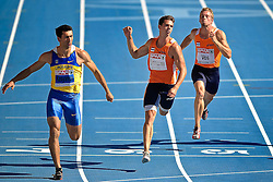 28.07.2010, Olympic Stadium, Barcelona, ESP, European Athletics Championships Barcelona 2010, im Bild Oleksiy Kasyanov UKR, Eelco Sintnikcolaas NED en Ingmar Vos NED. EXPA Pictures © 2010, PhotoCredit: EXPA/ nph/ . Ronald Hoogendoorn+++++ ATTENTION - OUT OF GER +++++