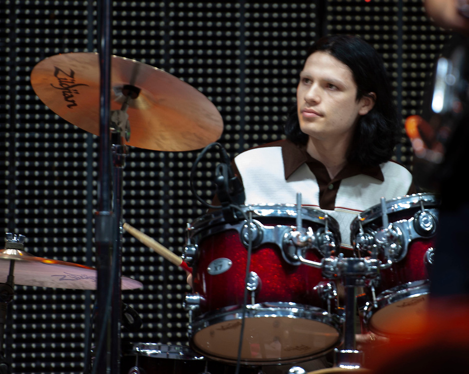 Lucas of Greer performing at Pacific Amphitheatre August 26, 2021.