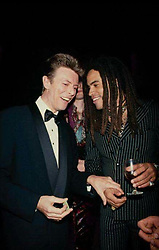 """Lenny Kravitz releases a photo on Twitter with the following caption: """"""""BOWIE FOREVER ....."""""""". Photo Credit: Twitter *** No USA Distribution *** For Editorial Use Only *** Not to be Published in Books or Photo Books ***  Please note: Fees charged by the agency are for the agency's services only, and do not, nor are they intended to, convey to the user any ownership of Copyright or License in the material. The agency does not claim any ownership including but not limited to Copyright or License in the attached material. By publishing this material you expressly agree to indemnify and to hold the agency and its directors, shareholders and employees harmless from any loss, claims, damages, demands, expenses (including legal fees), or any causes of action or allegation against the agency arising out of or connected in any way with publication of the material."""