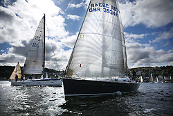 The Silvers Marine Scottish Series 2014, organised by the  Clyde Cruising Club,  celebrates it's 40th anniversary.<br /> Day 1<br /> GBR3934R, Sapphire, Chris Laverty, HSC, Grand Soleil 40<br /> <br /> Racing on Loch Fyne from 23rd-26th May 2014<br /> <br /> Credit : Marc Turner / PFM