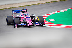February 19, 2019 - Montmelo, Barcelona, Spain - Barcelona-Catalunya Circuit, Montmelo, Catalonia, Spain - 19/02/2018: Lance Stroll of SportPesa Racing Point F1 Team car during second journey of F1 Test Days in Montmelo circuit. (Credit Image: © Javier Martinez De La Puente/SOPA Images via ZUMA Wire)