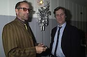 Peter Stormare and Lasse Hallstršm Talk pre-Golden Globes party. Mondrian Hotel. 20 January 2001. © Copyright Photograph by Dafydd Jones 66 Stockwell Park Rd. London SW9 0DA Tel 020 7733 0108 www.dafjones.com