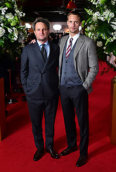 Jason Clarke and Alexander Skarsgard attending the world premiere of The Aftermath, held at the Picturehouse Central Cinema, London