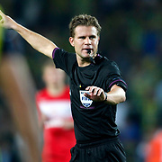 Referee's Felix Brych during their UEFA Champions League Play-Offs, 2nd leg soccer match Fenerbahce between Spartak Moscow at Sukru Saracaoglu stadium in Istanbul Turkey on Wednesday 29 August 2012. Photo by TURKPIX