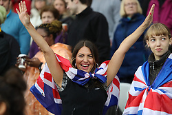 London, August 09 2017 . The packed stadium had plenty of supporters rooting for Great Britain's athletes on day six of the IAAF London 2017 world Championships at the London Stadium. © Paul Davey.