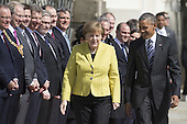 Obama Meets Merkel in Germany