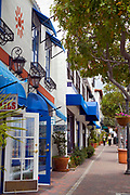 Stores and Shops on Avenida Del Mar, San Clemente, Orange County, California, USA