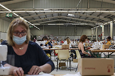 An ephemeral sewing workshop was set up in 48 hours - 17 April 2020