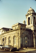 Amateur Photos, Old Dublin, January 1984, Kingsbridge Station, Parkgate St, Telephone Box, Lanterns, Substation transformer, huston station, Old amateur photos of Dublin streets churches, cars, lanes, roads, shops schools, hospitals