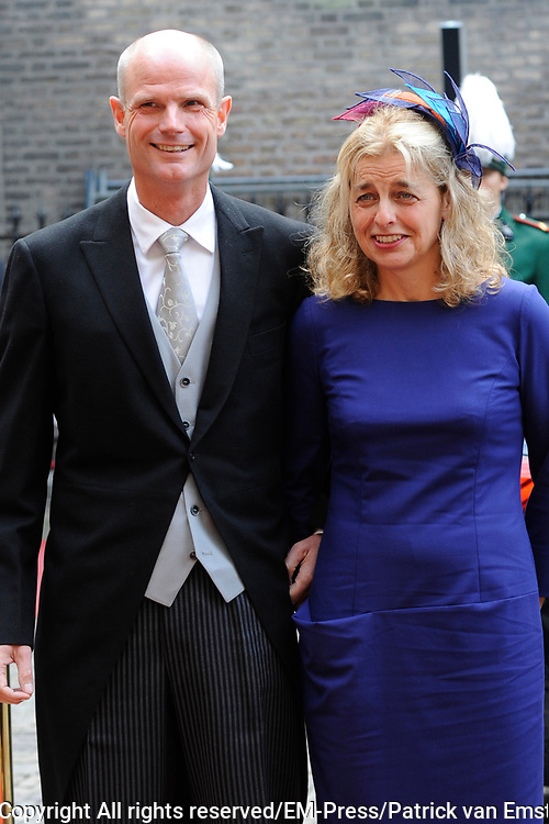 Prinsjesdag 2014 - Aankomst Politici op het Binnenhof.<br /> <br /> Op de foto:  Stef Blok - Minister voor Wonen en Rijksdienst