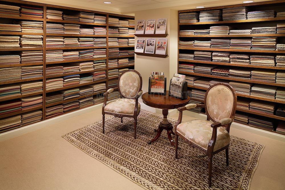 Stark Carpet showroom at Washington DC Design Center