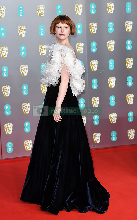 Jessie Buckley attending the 73rd British Academy Film Awards held at the Royal Albert Hall, London. Photo credit should read: Doug Peters/EMPICS Entertainment