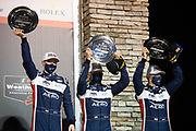March 20, 2021. IMSA Weathertech Mobil 1 12 hours of Sebring: #22 United Autosports, ORECA LMP2, James McGuire, Wayne Boyd, Guy Smith