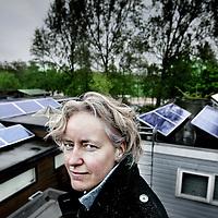 Nederland, Amsterdam , 3 mei 2010..Pauline Westendorp, initiatiefnemer duurzame locale initiatieven..Foto:Jean-Pierre Jans