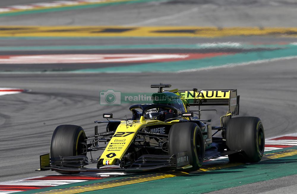 February 18, 2019 - Barcelona, Spain - Motorsports: FIA Formula One World Championship 2019, Test in Barcelona, , #27 Nico Hülkenberg (Renault Sport F1 Team) (Credit Image: © Hoch Zwei via ZUMA Wire)